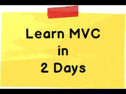 learn asp net mvc 5 model view