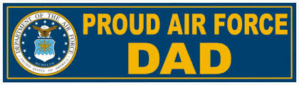 Proud Us Air Force Parents Vinyl Car Window Decal Bumper Sticker Us Seller Rainbowlands Lk