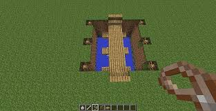 Rope Bridge That Literaly Is Hanging From The Rope Minecraft Map
