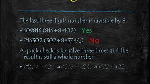 Divisibility Rules by Sohum Mehta, RSM Online - YouTube