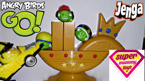 Angry Birds Go Trophy Cup Challenge Jenga Playset Toy Review ...
