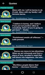 karma quotes karma thoughts best english status telecharger