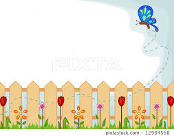 Garden Background Stock Illustration 12984568 Pixta