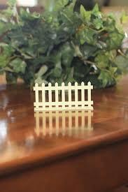Picket Fence White