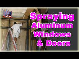 painting aluminum windows doors
