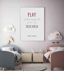 Play Is The Highest Form Of Research Einstein Quotes Etsy
