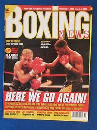 Boxing News Magazine - 11/12/98 - Arturo Gatti & Ivan Robinson ...