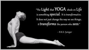 inspiring yoga quotes by b k s iyengar