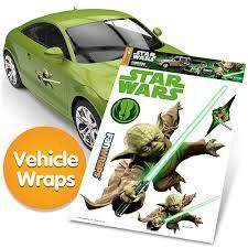 Star Wars Yoda Fanwraps Car Decal Buy Online In Dominican Republic At Desertcart