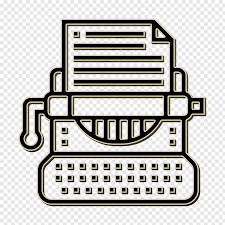 Antique icon characters icon machine icon, Typewriter Icon ...