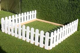 Small Garden Area Plastic Fencing Lawn Grass Border Path Grave Edging Fancy