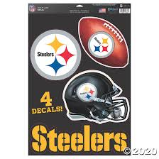 Nfl Pittsburgh Steelers Window Decals Discontinued