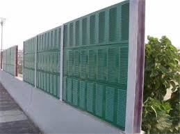 Road Sound Reduction Acoustic Barrier Fence Traffic Noise Barrier For Highways For Sale Perforated Metal Plate Manufacturer From China 107657561