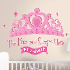 Zoomie Kids 131 Piece Princess Sleeps Here Giant Wall Decal Reviews Wayfair