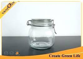 airtight glass bottles small