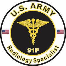 Us Army Mos 91p Radiology Specialist 3 8 Inch Decal Walmart Com Walmart Com