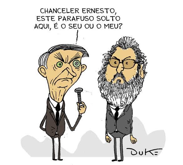 """Resultado de imagem para bolsonaro e araujo charges"""""""