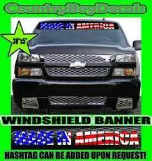 Made In America Windshield American Vinyl Decal Sticker Diesel Truck Usa Merica Ebay