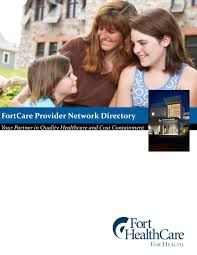 FortCare Provider Network Directory - PDF Free Download
