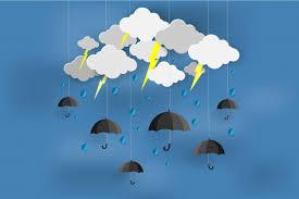 happy rainy day with monsoon season