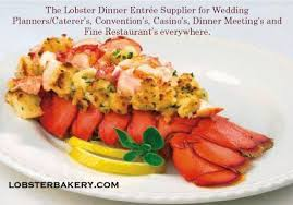Lobster tails loaded with succulent ...