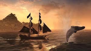 ship sail ship schooner whale ocean