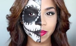 sugar skull makeup looks for halloween