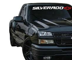 Silverado Tailgate Vinyl Decal Sticker Chevy 1500 2500 Duramax Window Graphics Ebay