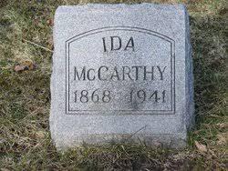 Ida J. FOWLER McCarthy (1868-1941) - Find A Grave Memorial