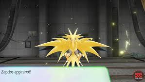 Pokemon Let's Go Zapdos Legendary Bird - Where to Find