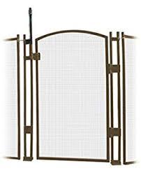 Amazon Com Ez Guard 4 X 12 Child Safety Pool Fence Brown Garden Outdoor