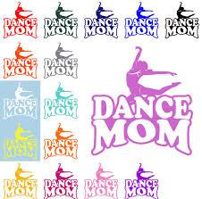 Dance Mom Decal Dance Mom Sticker Mom Decal Sports Mom Decal Vinyl Decal Car Decal Dance Dance Moms Car Decals Vinyl Vinyl Decals