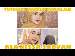 ala nissa sabyan gambus hijab tutorial
