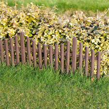 Plastic Fencing Lawn Grass Border Path Edging Fancy Small Mini Picket Flexible Ebay