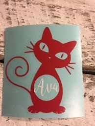 Custom Cat Lady Name Vinyl Decal For Stainless Tumblers Coffee Travel Cups Mug Ebay