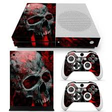 Blue Skull Cover Decal Skin Sticker For Xbox One Console 2 Controller For Sale Online Ebay