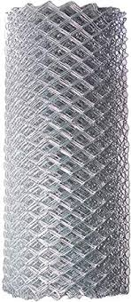 Amazon Com Aleko Clf115g4x50 Chain Link Mesh Roll For Diy Fence System Galvanized Steel For Home Business Agriculture 4 X 50 Feet Silver Garden Outdoor