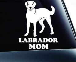 Amazon Com Expressdecor Labrador Retriever Mom Lab Symbol Decal Paw Print Dog Puppy Pet Family Breed Love Car Truck Sticker Window White Automotive