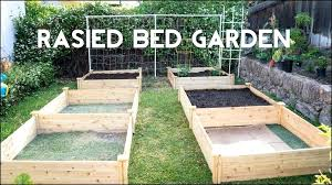 raised garden bed design bisnisabe