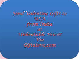 send valentine gifts to usa from india