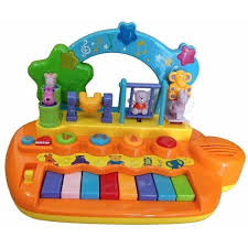 baby piano with dancing s
