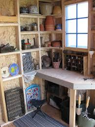inside garden shed ideas photograph