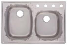 bowl stainless steel top mount sink