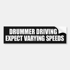Drummer Bumper Stickers Decals Car Magnets Zazzle