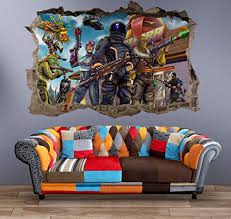 48 Best Fortnite Stickers Decals Wall Art For Bedrooms Wpin Uk