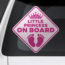 Baby On Board Car Stickers Muraldecal