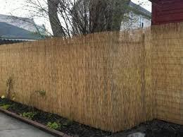 Backyard X Scapes 6 Ft H X 16 Ft L Reed Fencing Hdd Bin Rf01 The Home Depot Giardinaggio Terrazza Giardino Esterno