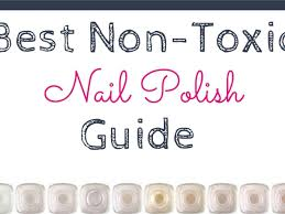 best non toxic nail polish guide