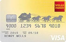 wells fargo student credit card reviews
