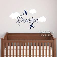 Names Wall Decals Custom Name Wall Sticker Kids Room Baby Nursery Independence